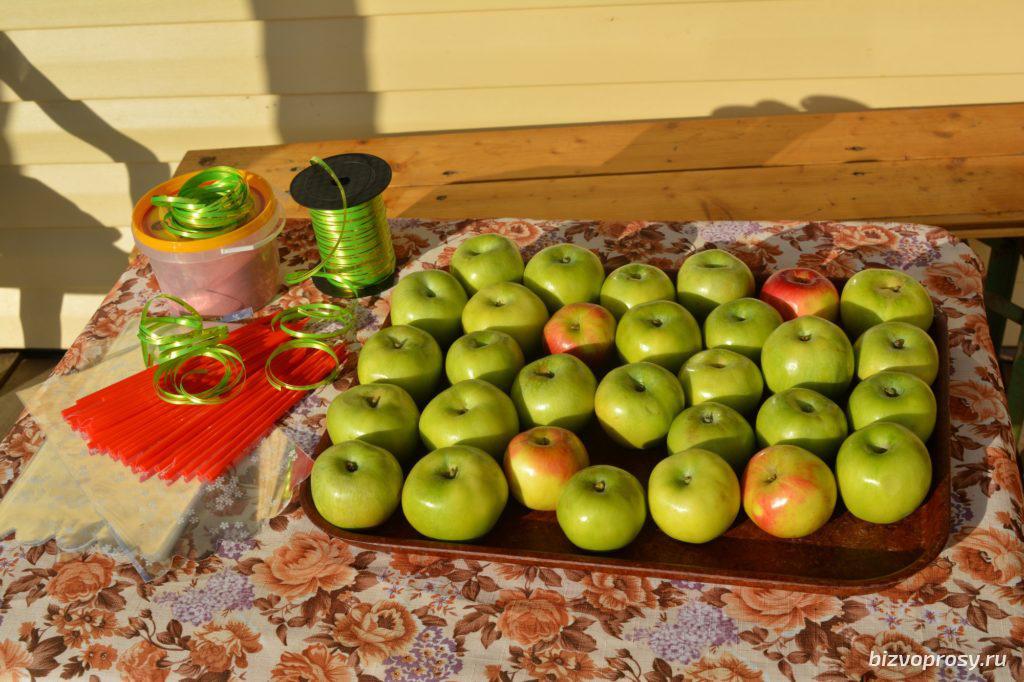 Идея для бизнеса: изготовление карамельных яблок (мастер-класс)